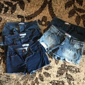 No Boundaries Shorts Lot. (5 pairs)